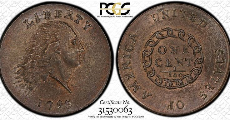 #PCGS #COTD: Garrett 1793 Flowing Hair Cent Chain Sheldon-3 PCGS MS65RB. PCGS population of 1 coin in Mint State 65 Red-Brown with 0 coins graded finer. PCGS Price Guide Value: $1000000. #chaincent #mintstate #gem #finestknown #earlyamericancopper #earlyamerica #americanhistory #1793 #philadelphia #thursday #thursdays #throwbackthursday #onemillion #coin #coins #copper #penniesfromheaven #biggame #ownitall #win #gameday #garrett @philadelphiagram  @philly  @philahistory  @hiddencityphila