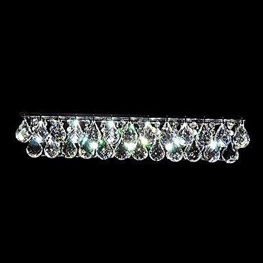 LED Crystal Wall Light, 7 LEDs, Minimalist Iron Plating - USD $ 149.99