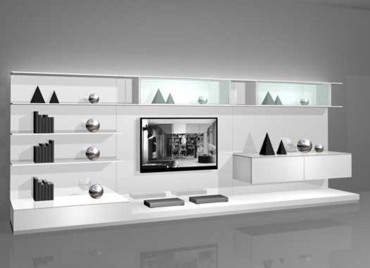 Wall Mounted Modern TV Cabinets For Small Living Room Designs White Design 2 By Rimadesio Home