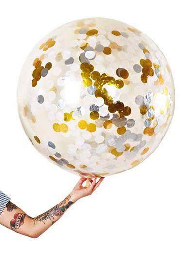 Jumbo Confetti Balloon W/S/G