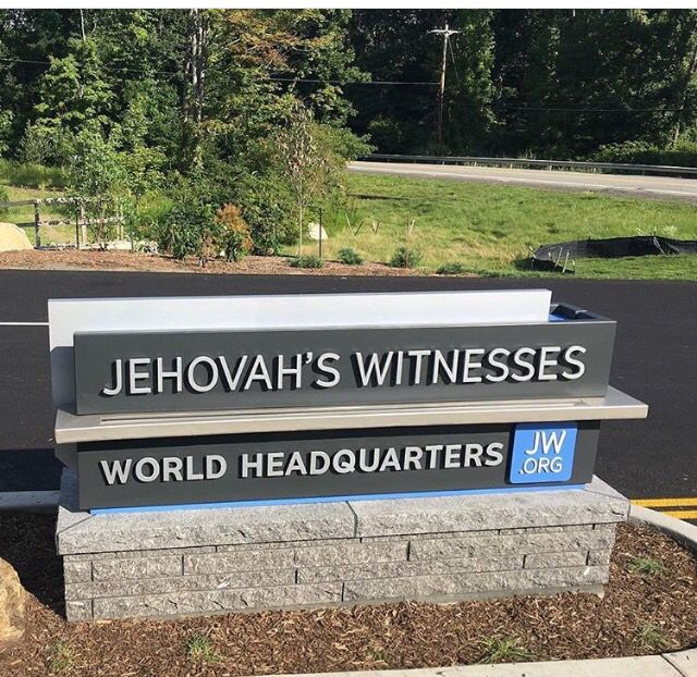 How do you like the new sign? We're planning to visit next August. What about you? #JWWorldHeadquarters #WarwickBethel