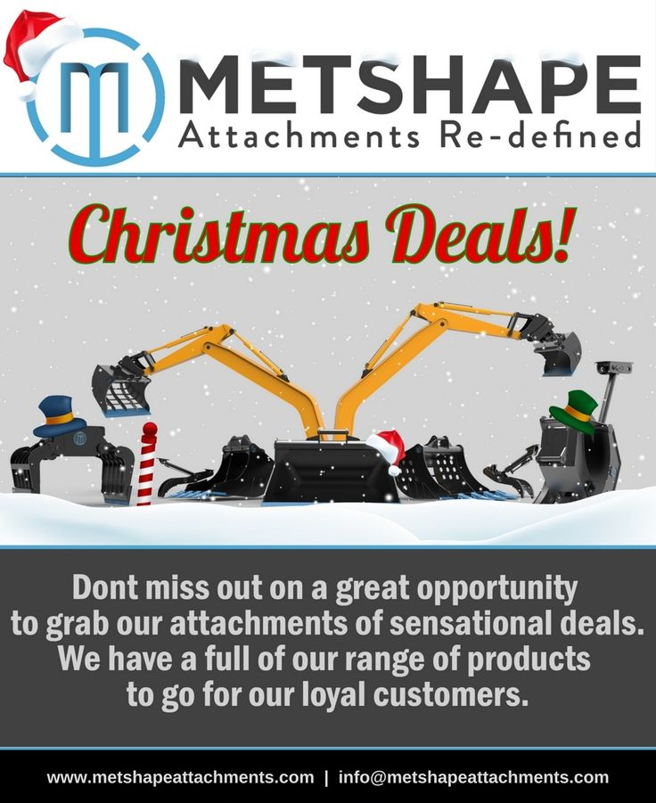 Christmas Carnival SALE!!  Add an extra sparkle to your Christmas. Get upto 60% discount on Metshape Excavator, Skid Steer Attachments: Buckets, Grabs, Tree Shears, Asphalt Cutters, Pallet Forks, Links and many more.  #MetshapeAttachments #Metshape #Attachments #Excavator #SkidSteer #SkidLoader #ExcavatorAttachments #Hardox #Oslo #Helsinki #Copenhagen #Stockholm #Reykjavík #Gravmaskin #Graveskuffe #Gravskopa #Kuokkakauhat #DiggingBucket #Christmas #MerryChristmas #ChristmasErope