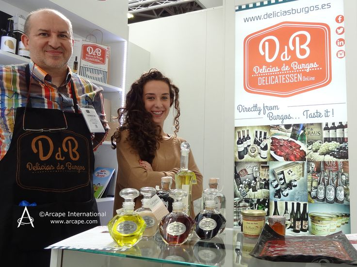 Delighted to meet Delicias de Burgos who were promoting their range of Spanish fine food