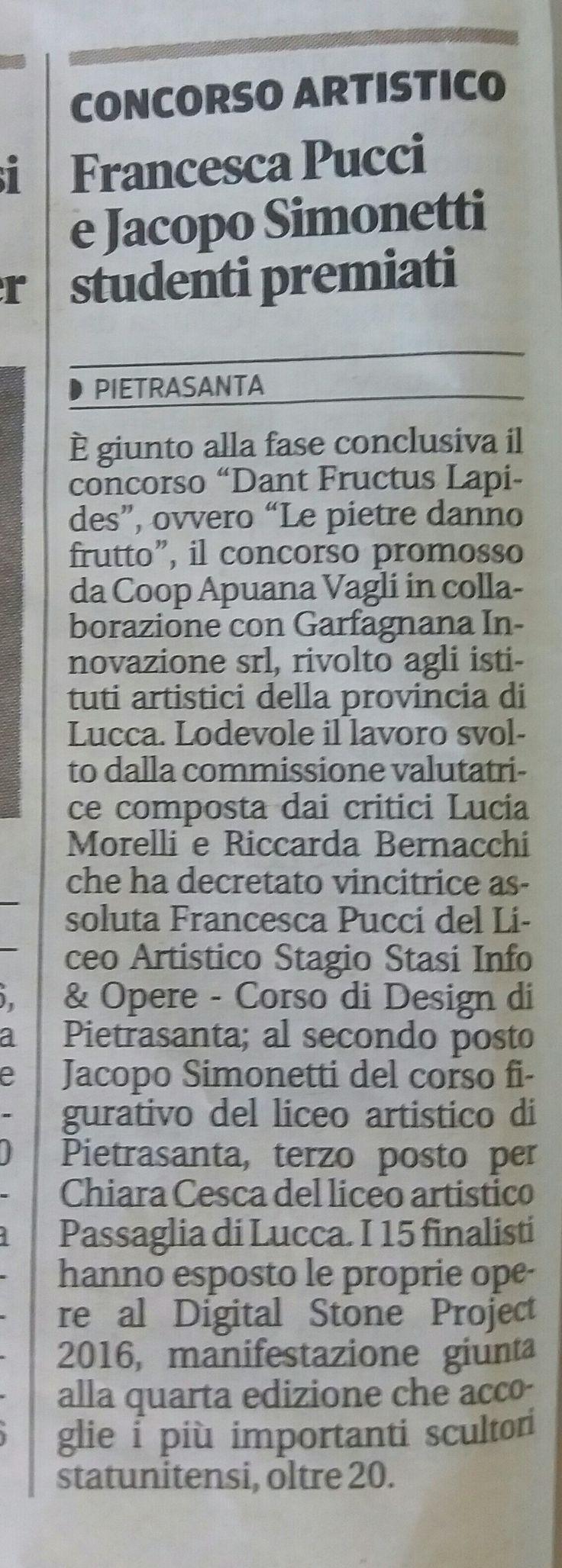 """""""Il Tirreno"""", 17.06.2016"""