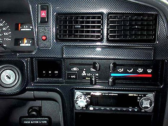 Toyota 4Runner 4 Runner 1990-1995 Interior Dash by 7thAvenueTech