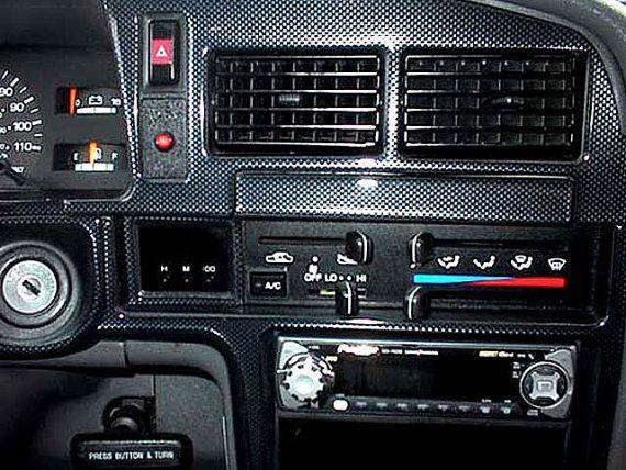 Toyota 4Runner 4 Runner 1990 1991 1992 1993 1994 1995 Interior