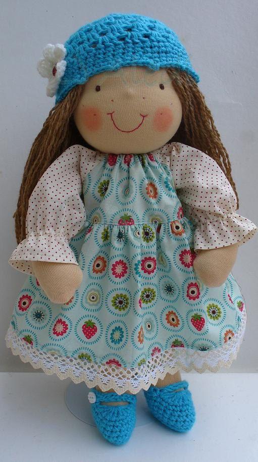 16 inch Waldorf doll by Aledi on Etsy