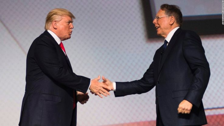 President Donald Trump went from hosting an emotional discussion with school shooting victims one day, Jen Psaki says, to refusing to challenge the NRA and Wayne LaPierre at CPAC the next.