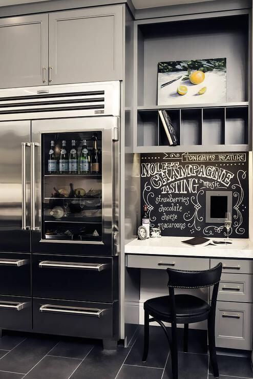 There's never enough space in a kitchen, so fitting special kitchen cabinets around refrigerator will come as a blessing.