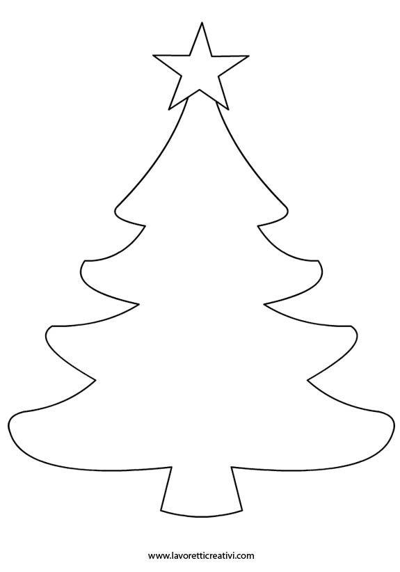 Sagome di Natale da ritagliare in natale