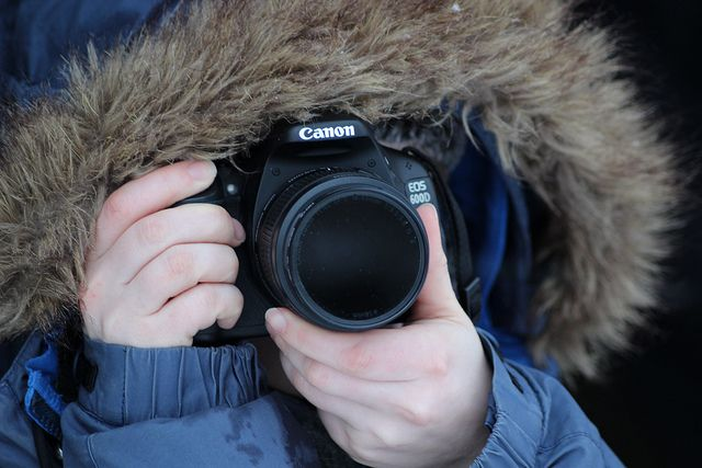 Photography in the snow!