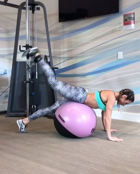Stability Ball Hamstring Curl T Nation: 1000+ Ideas About Glute Kickbacks On Pinterest