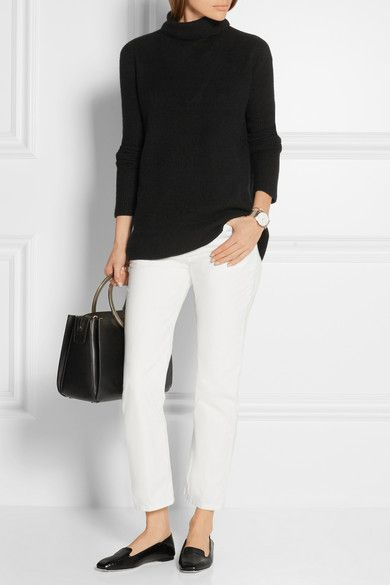 The Row | Ashland cropped high-rise straight-leg jeans | NET-A-PORTER.COM