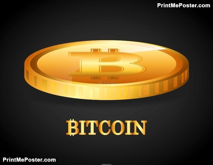 Poster of bit coin, Money Posters, #poster, #printmeposter, #mousepad, #tshirt