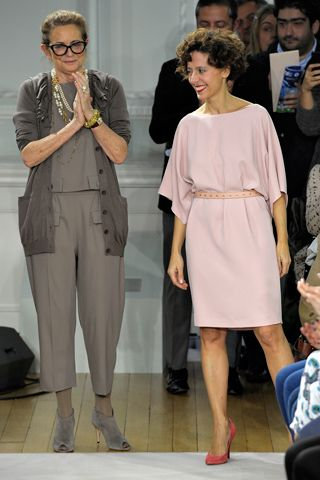 Rossella Jardini and Francesca Rubino for Moschino Cheap And Chic Fall 2012 Ready-to-Wear