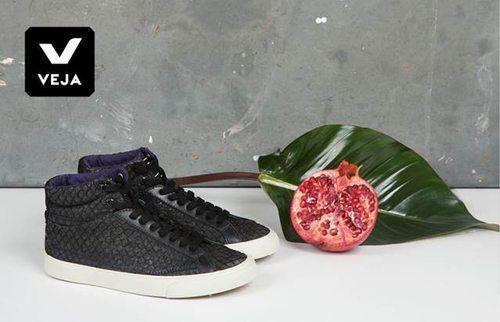 Veja presenta la sneaker in pelle di pesce #ilovesneakers