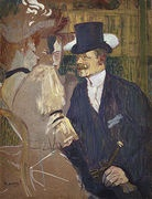 An Englishmn (William Tom Warrener) at the Moulin Rouge
