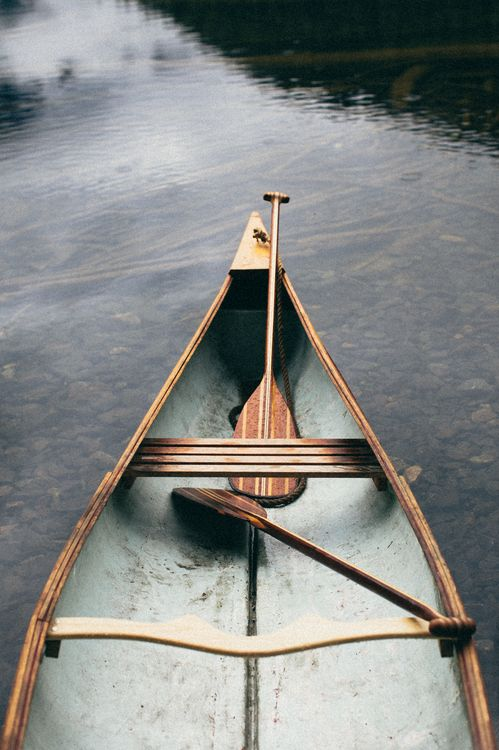 benchandcompass:  gunflint paddles by Sanborn Canoe Co.