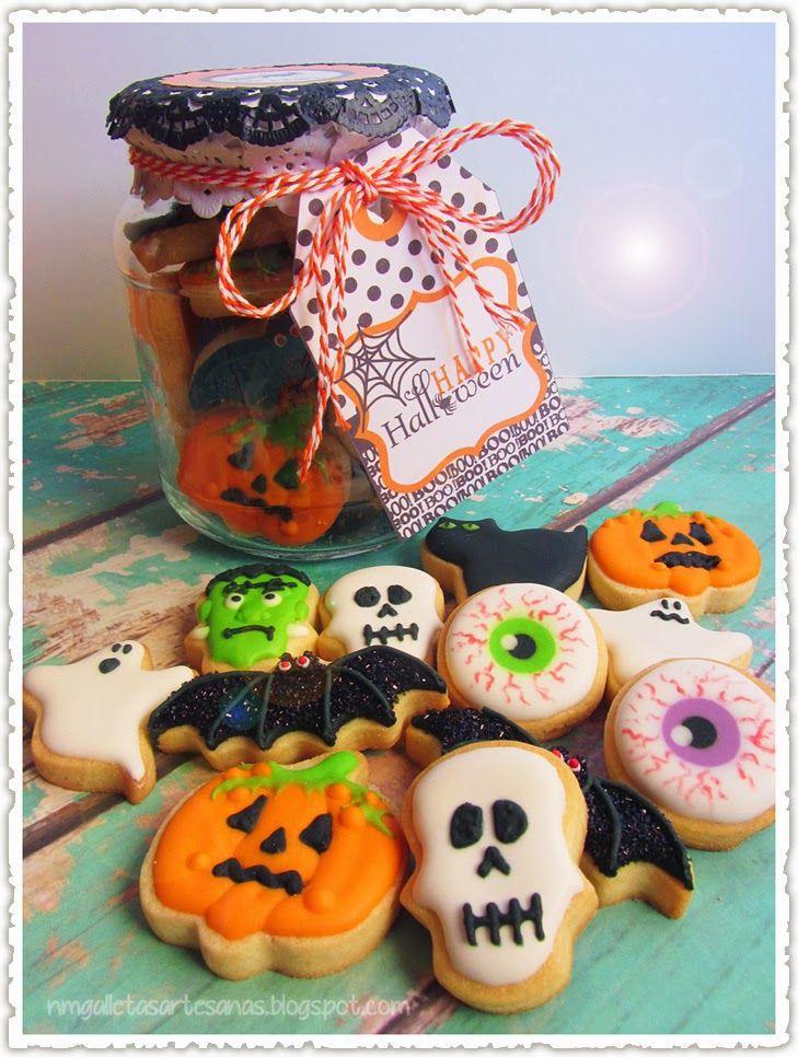 N.M. Galletas Artesanas: Mini galletas de Halloween