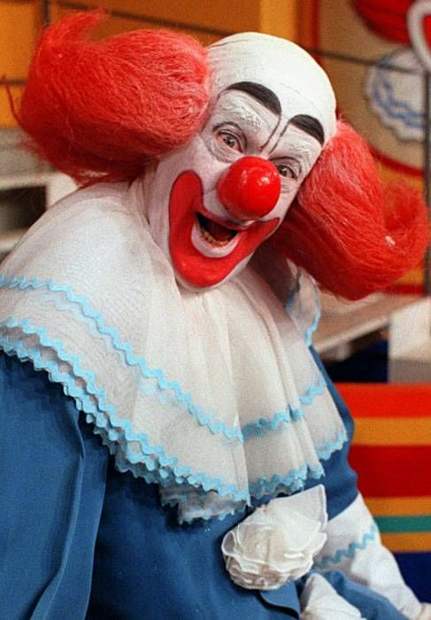 I grew up watching Bozo the Clown. Explains a lot.