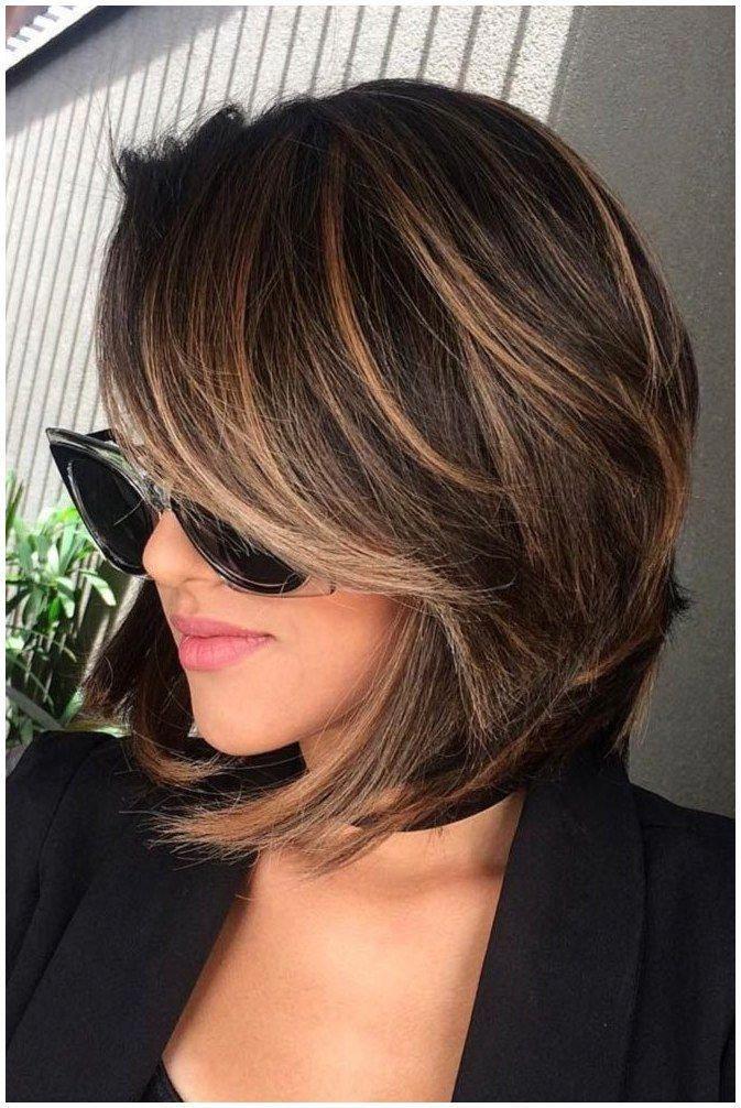 Hair Shorthair Haircut 25 Best Highlights For Short Hair Ideas On Color For Short Hair Carmel Hair C In 2020 Short Hair Highlights Hair Styles Medium Hair Styles