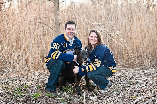 Il Cavallo Photography | Karla, Dave & Raider {Amherst Engagement Photography}