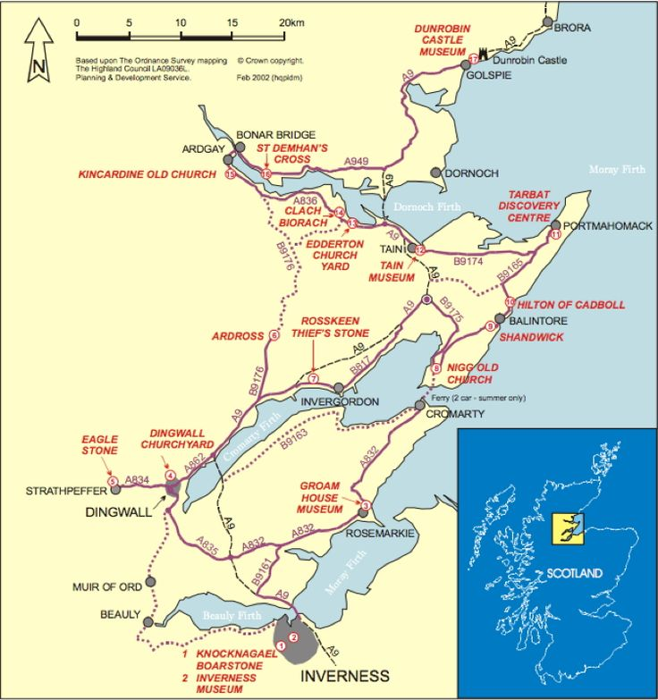 The Highland Pictish Trail. Picts were a group of Late Iron Age and Early Medieval Celtic people living in eastern/northern Scotland. Known from the geographical distribution of brochs, Brythonic place name elements, and Pictish stones. In written records from before the Roman conquest of Britain to the 10th cent., when they probably merged with the Gaels; assumed descendants of Caledonii mentioned on the world map of Ptolemy.