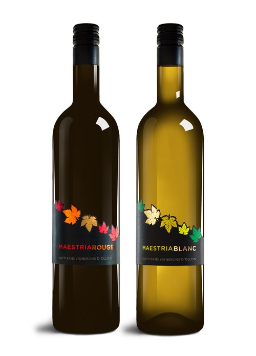 OCTANE communication | AVO Maestria  #wine #label #design #packaging