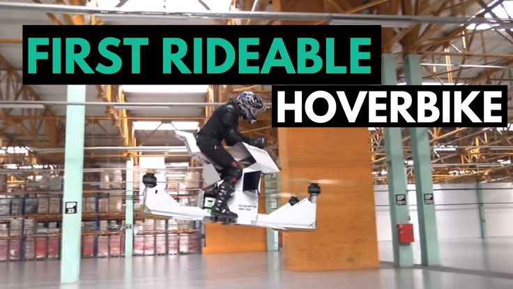 World's First Rideable Hoverbike Looks Awesome But...