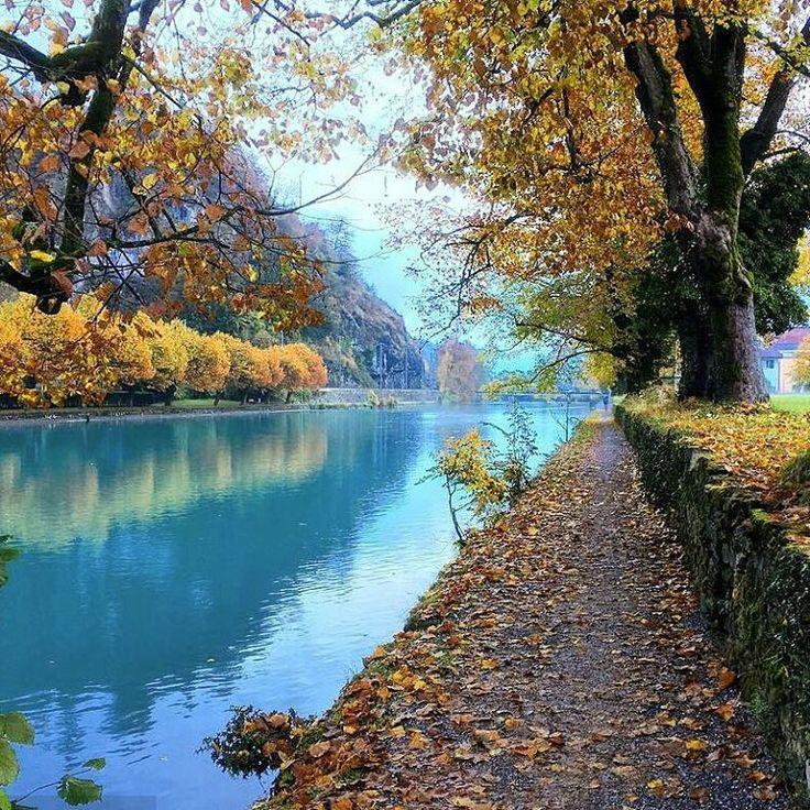 Another beautiful autumn day in Interlaken.