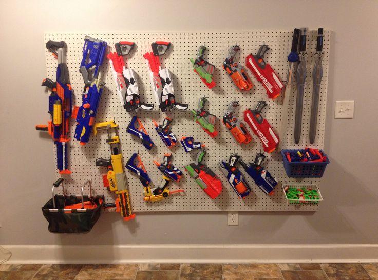 Nerf gun storage @Marc Camprubí Marchand