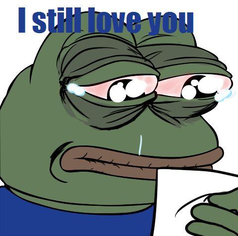 sad frog meme | Tumblr