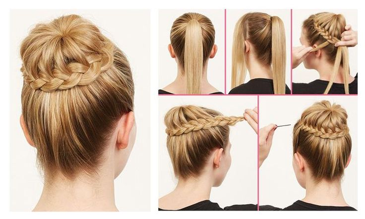 Hairstyles Step By Step Images: Easy Steps for Lazy Girls ...