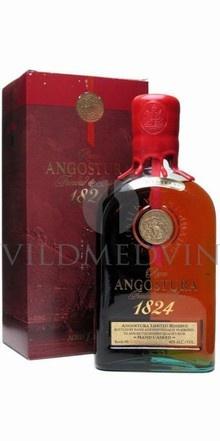 Angostura 1824 Rom, Trinidad & Tobago, 12 års Rom, 40%, 70cl   450 kr.