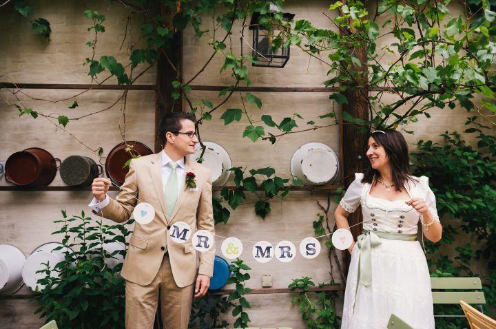 mr & mrs girlande garland von renna deluxe