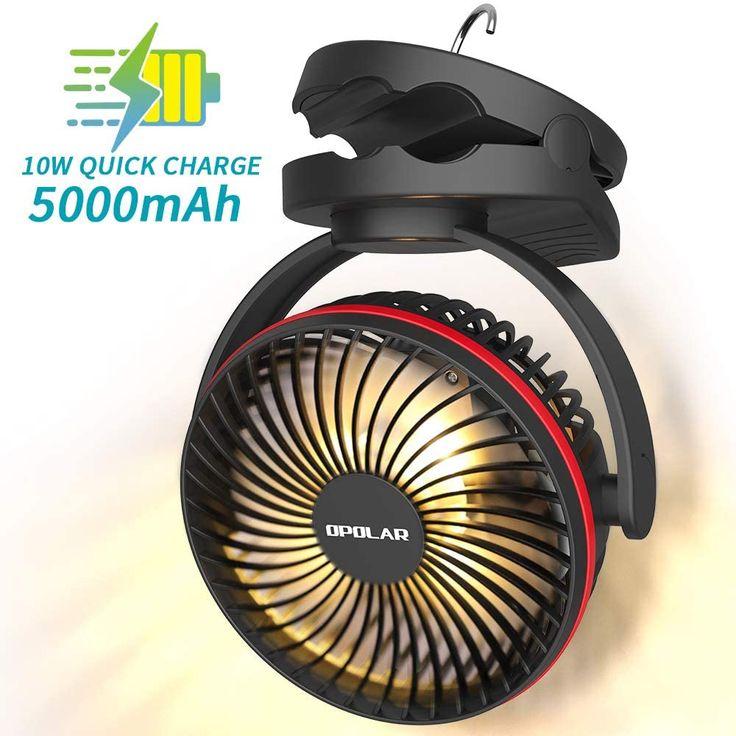 Under 20 Tent Fan/Light Combo in 2020 Cool tents