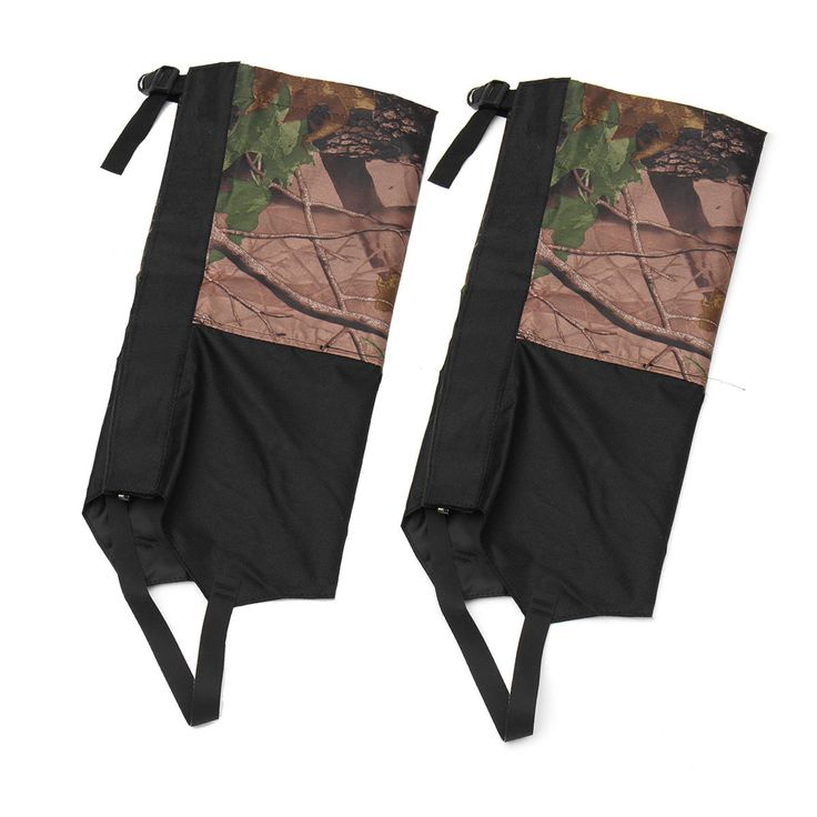 1 Pair Camouflage Waterproof Outdoor Climbing Hiking Snow Gaiters Leg Cover Boot Legging Wrap Sale - Banggood.com