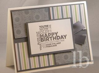 "By Linda Bartolucci....who would have thought that ""Twitterpated"" could have been a masculine card!? Genius! :)"
