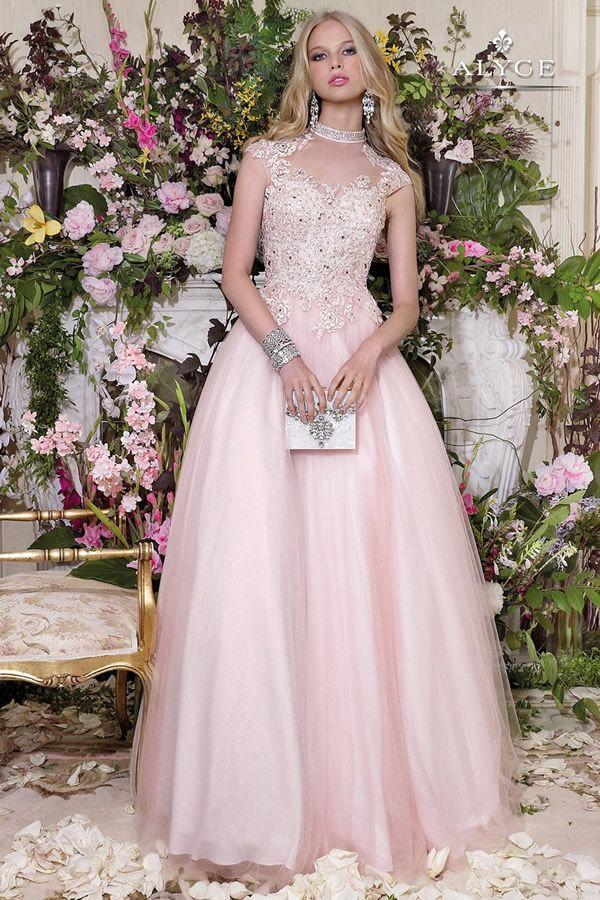 Vestidos De Quince Años Color Pastel Alyce Paris En 2019