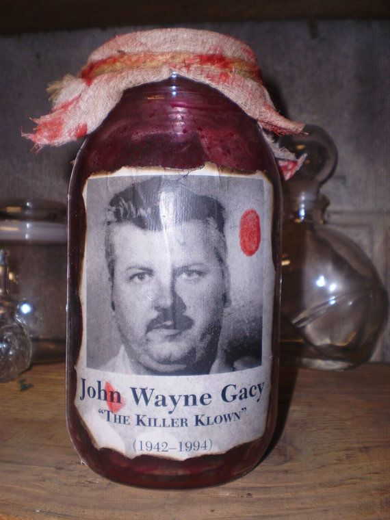 JOHN WAYNE GACEY Serial Killer Macabre by MacabreKillerCrafts, $19.99