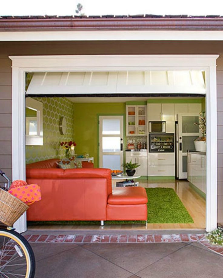ideas for converting a garage into a room - 25 best ideas about Garage conversions on Pinterest