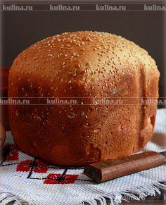 Горчичный хлеб с кунжутом - рецепт с фото