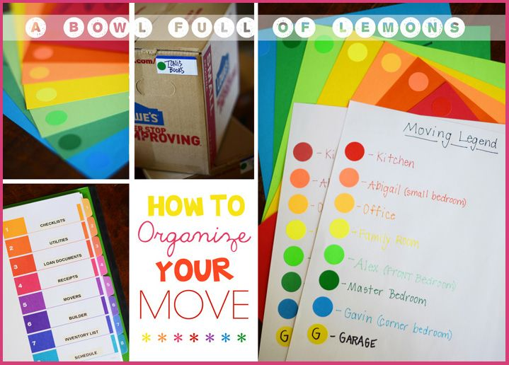 How to organize a move 11