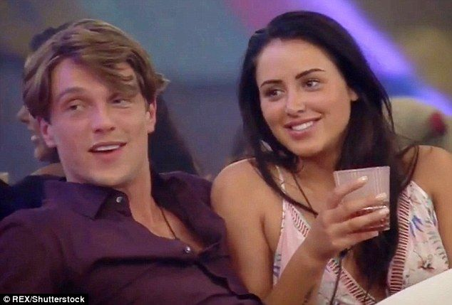 Where it began: Marnie and Lewis' relationship formed in the Celebrity Big Brother house where many viewers accused the couple of forming a 'showmance' to garner publicity