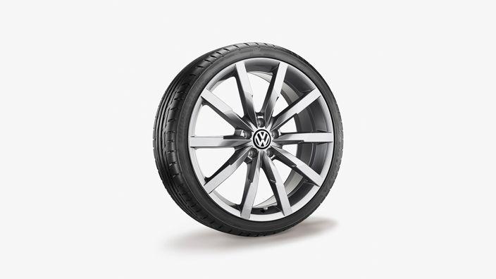 Sommerkomplettrad 235/45 R18 98Y XL, Bridgestone Potenza RE 050 A, Monterey, Gal