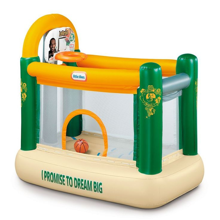 Little Tikes LeBron James Family Foundation Indoor Dunk Bouncer, Multicolor
