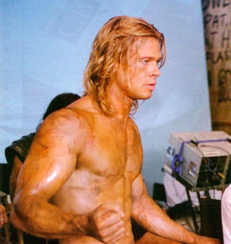 75 sarados do cinema, filme: Tróia - Brad Pitt