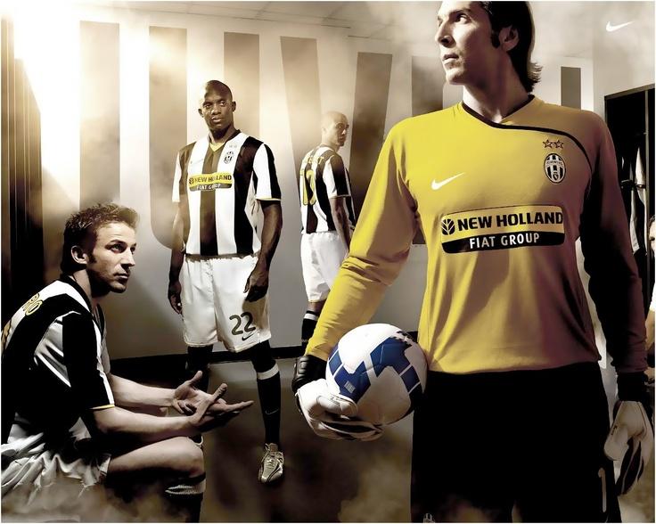 Juventus advertising!
