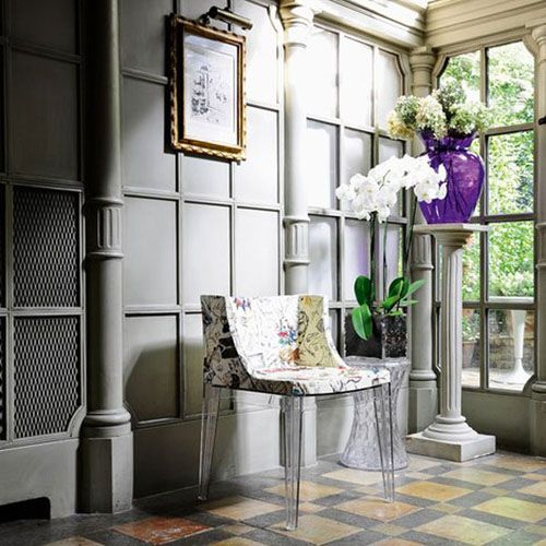 The Kartell La Boheme Vase and Stool collection by Philippe Starck is a triumph of creative genius and technology.