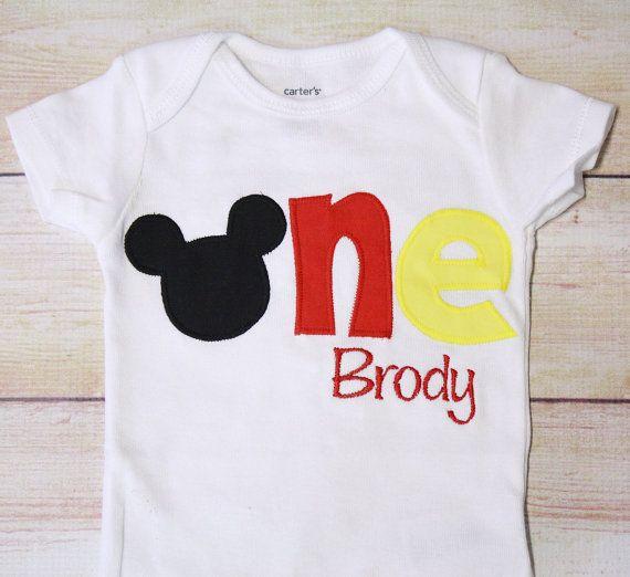 Mickey Mouse inspirado en una camisa para 1er por RightUpYourAli1